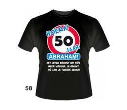 Abraham 50 jaar. Leeftijd T-Shirts - Abraham