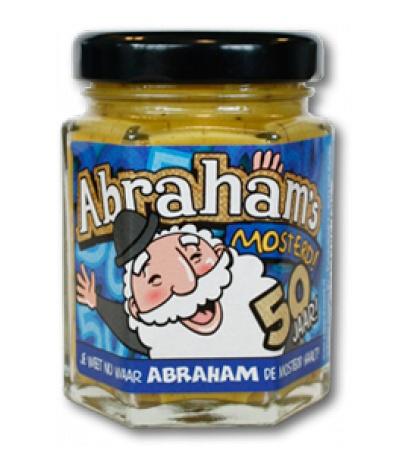 Super Abraham 50 jaar. Abraham Mosterd - Cadeauwarenshop.nl @UR17
