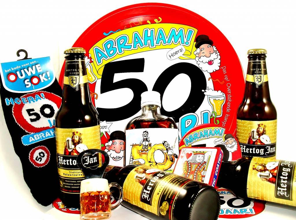 abraham 50 jaar kado Voor ieder budget een leuk Abraham bierpakket   Cadeauwarenshop.nl abraham 50 jaar kado