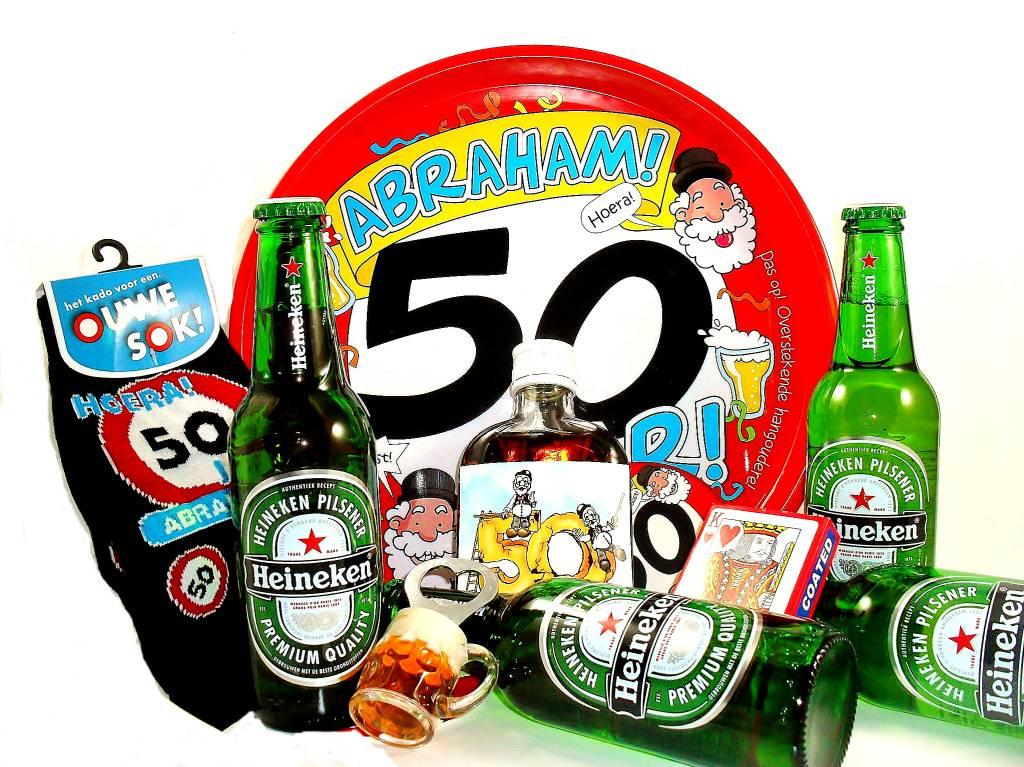 50 jaar heineken Voor ieder budget een leuk Abraham bierpakket   Cadeauwarenshop.nl 50 jaar heineken