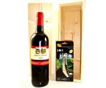 Cadeautips Rode Wijn Wijnkist Frankrijk