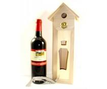 Cadeautips Rode Wijn Vogelhuisje Frankrijk