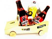 Cadeautip voor hem. Voor ieder budget een leuk en origineel bier-raceauto bierpakket.