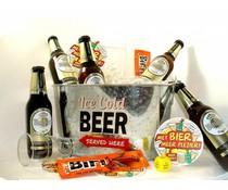 Cadeautips Bierpakket Warsteiner Bierkoeler + Flesopener