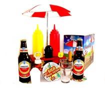 Bierpakket Amstel + Picknicktafel