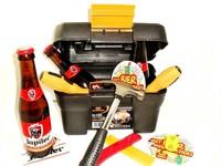 Cadeautip voor hem. Voor ieder budget een leuk en origineel bierklusbox bierpakket.