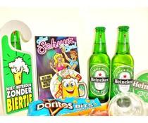 Cadeautips Bierpakket Heineken Schuurspel
