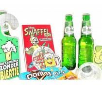 Cadeautips Bierpakket Grolsch Swaffelspel