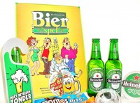 Cadeautip voor hem. Voor ieder budget een leuk en origineel bierspel bierpakket.