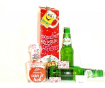 Cadeautips Bierpakket Grolsch + Minibierglas