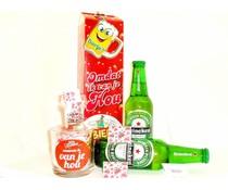 Cadeautips Bierpakket Heineken + Minibierglas