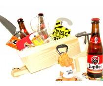 Cadeautips Bierpakket Jupiler Kruiwagen