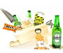 Cadeautips Bierpakket Heineken Kruiwagen