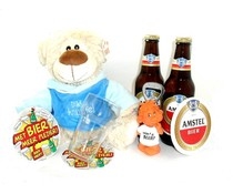 Cadeautips Bierpakket Amstel Knuffelbeer