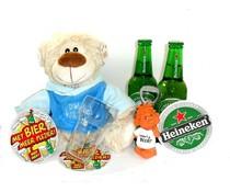 Cadeautips Bierpakket Heineken Knuffelbeer