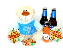 Cadeautips Bierpakket Bavaria Knuffelbeer