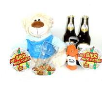 Cadeautips Bierpakket Alfa Knuffelbeer
