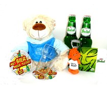 Cadeautips Bierpakket Grolsch Knuffelbeer