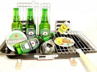 Bierpakket: Voor ieder budget een leuk en origineel bierbarbecue-grill bierpakket.