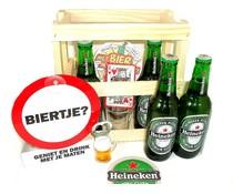 Cadeautip voor hem Bierkistje Heineken