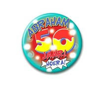 Abraham Button 50 jaar! Hoera!