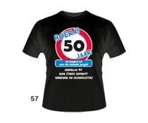 Abraham 50 jaar. Leeftijd T-Shirts - 50 jaar