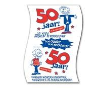 50 jaar Abraham. Toiletpapier - 50 jaar man