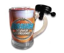 Abraham 50 jaar. Bierpul - Abraham, bel voor de volgende ronde!