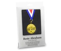 Abraham 50 jaar. Beste Abraham - Gouden Medaille