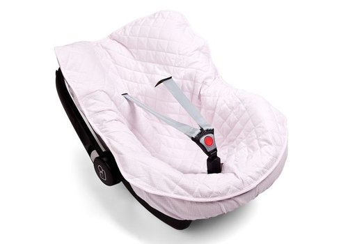 Maxi Cosi hoes Roze/Wit