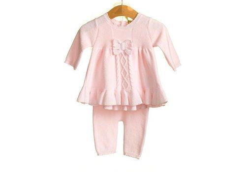Roze set: broekje met tuniek
