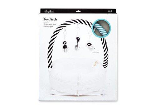Sleepyhead ToyArch – Aqua/White