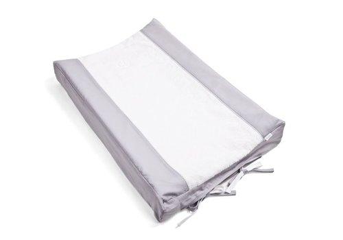 Aankleedkussenhoes grijs