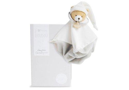 Knuffeldoekje beer beige