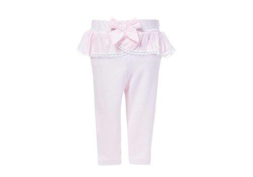 Roze legging met strik