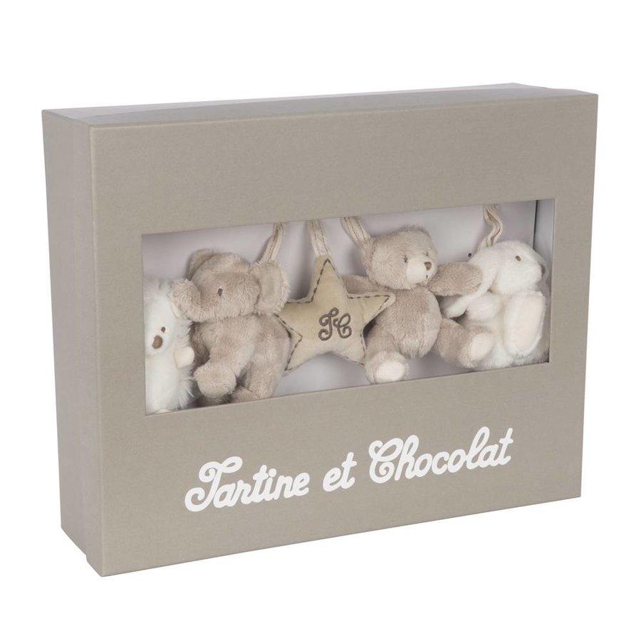 Tartine et Chocolat muziekmobiel off white (70cm)
