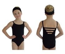 Dansgirl Kinder Balletpakje wide strap zwart