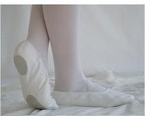 Dansgirl Balletschoenen splitzool wit