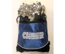 Pizzazz Cheer tas Pom bag blauw