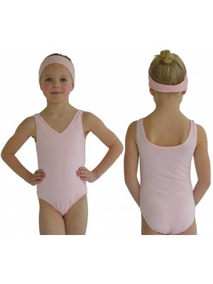 Dansgirl Kinder Balletpakje hemdmodel licht roze
