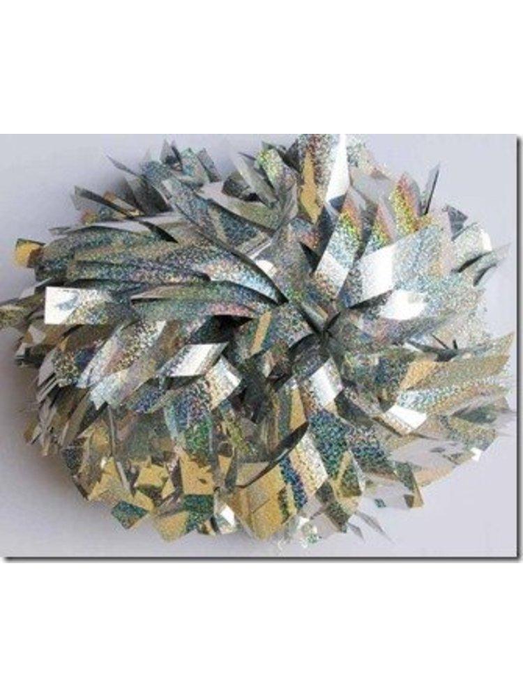 Cheerleader poms (set van 2) Metallic