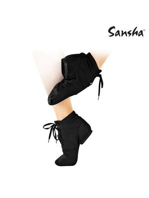 Sansha Jazz boot canvas soho jazzschoen