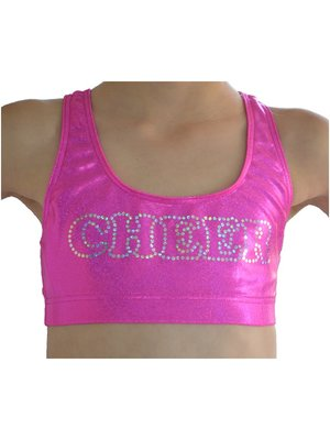 Ervy Dames CHEER top Bora roze