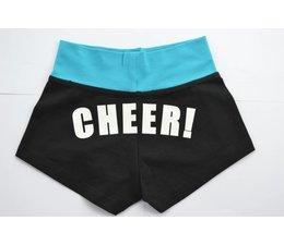 Dansgirl CHEER! short zwart/turquoise