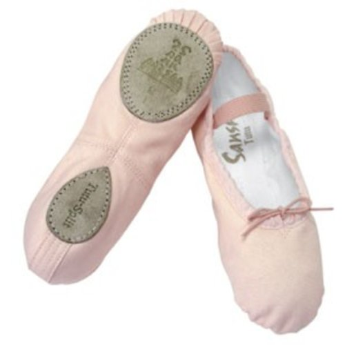 Sansha Balletschoen kinder Tutu-split 5C splitzool roze