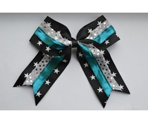 Cheerleader haarstrik metallic star