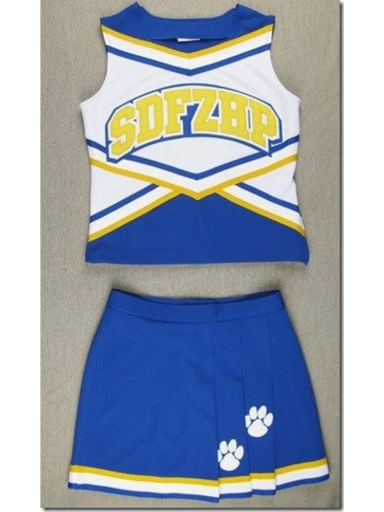 Cheerleader Uniform Buldogs