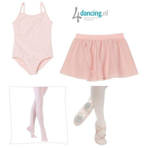 Ballet pakket roze compleet start pakket