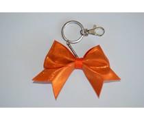 Sleutelhanger Cheer bow oranje