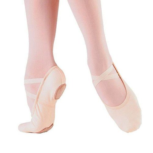 So Danca Balletschoen normale/smalle voet WIT